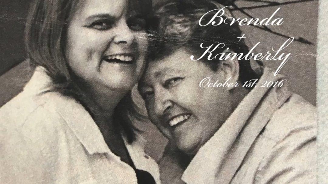 Brenda + Kimberly. The Royal Couple.